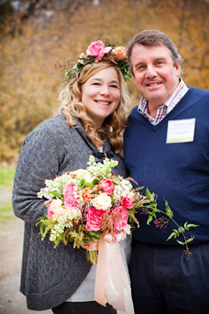 Holly Chapple And Joost Bongaerts - Floral Design Workshop In California.