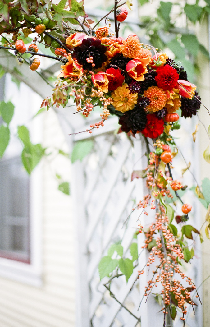 Floral Design With Fall Color Palette, Where To Buy Dahlias