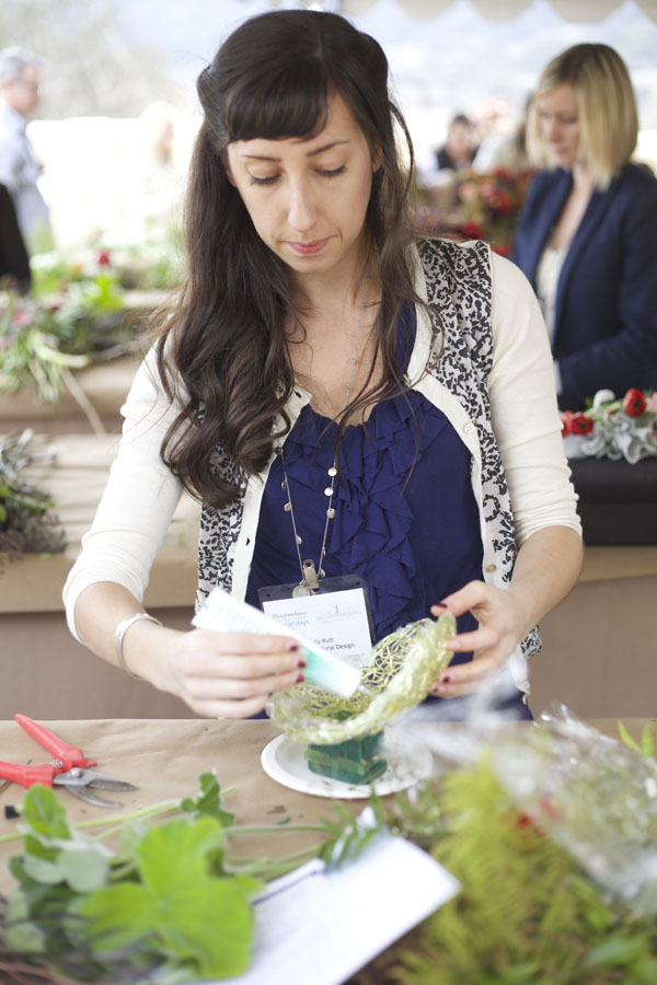 Holly Rutt of Sweet Pea Floral Design