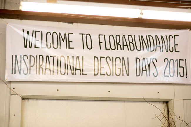 Florabundance Design Days 2015 - Welcome!