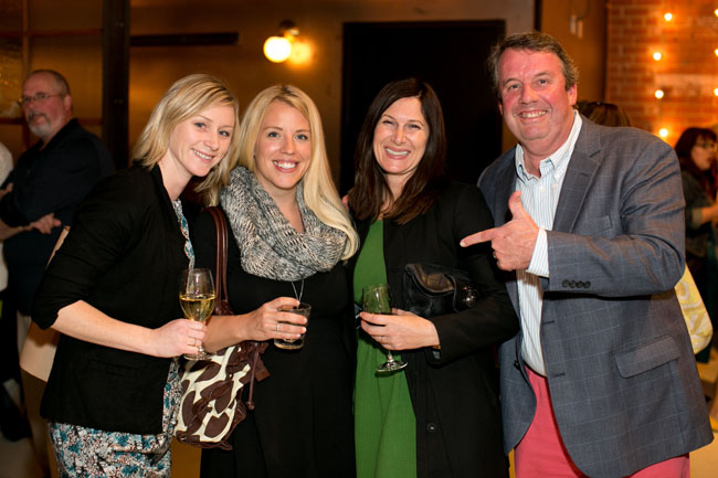 Florabundance Design Days 2015 - Katie, Stacey and Shannon with Joost.