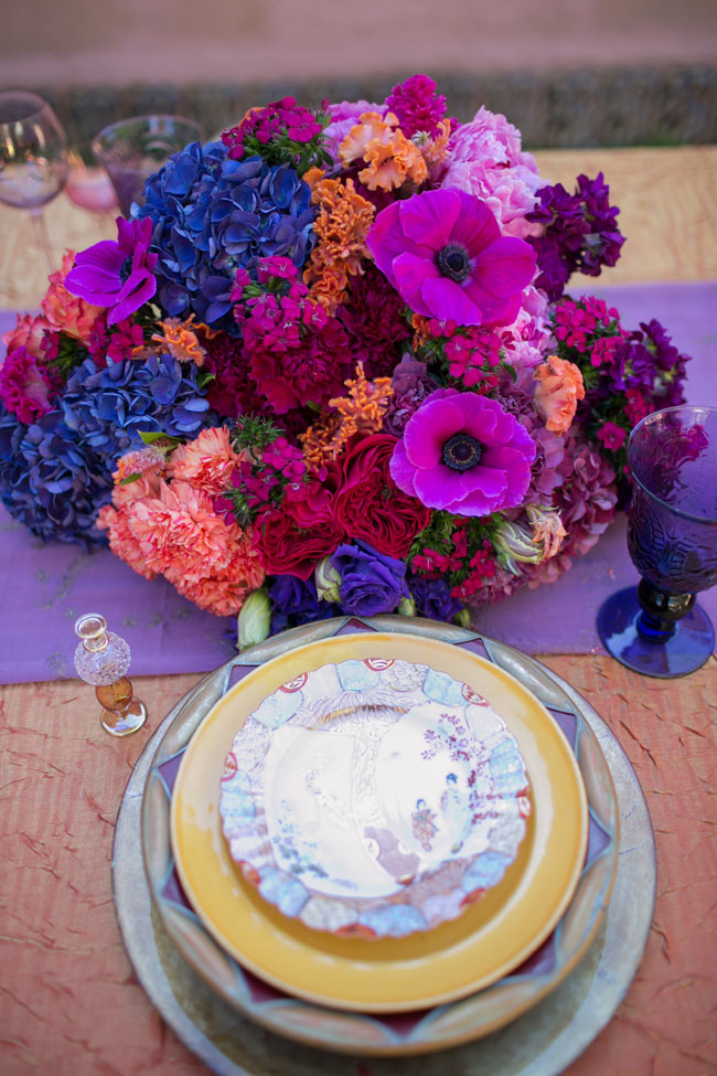 Florabundance Design Days 2015 - Bright and Bold - that's how Tricia Saroya designs!