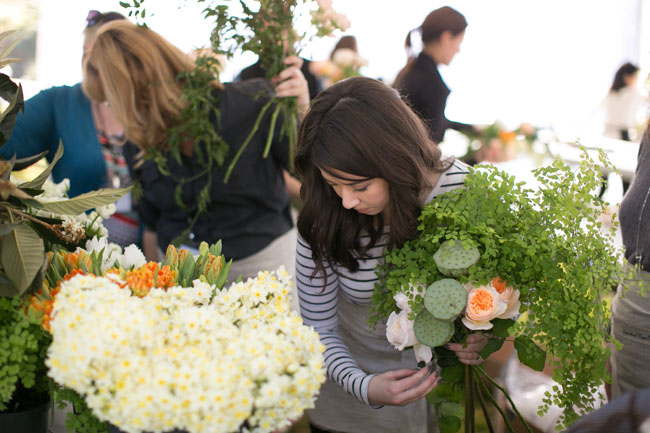 Florabundance Design Days 2015 - Oh, the flower options!