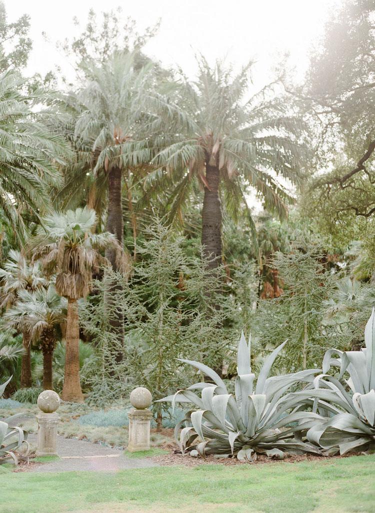 Lotusland Gardens in Montecito, California. Photograph by Lerina Winter