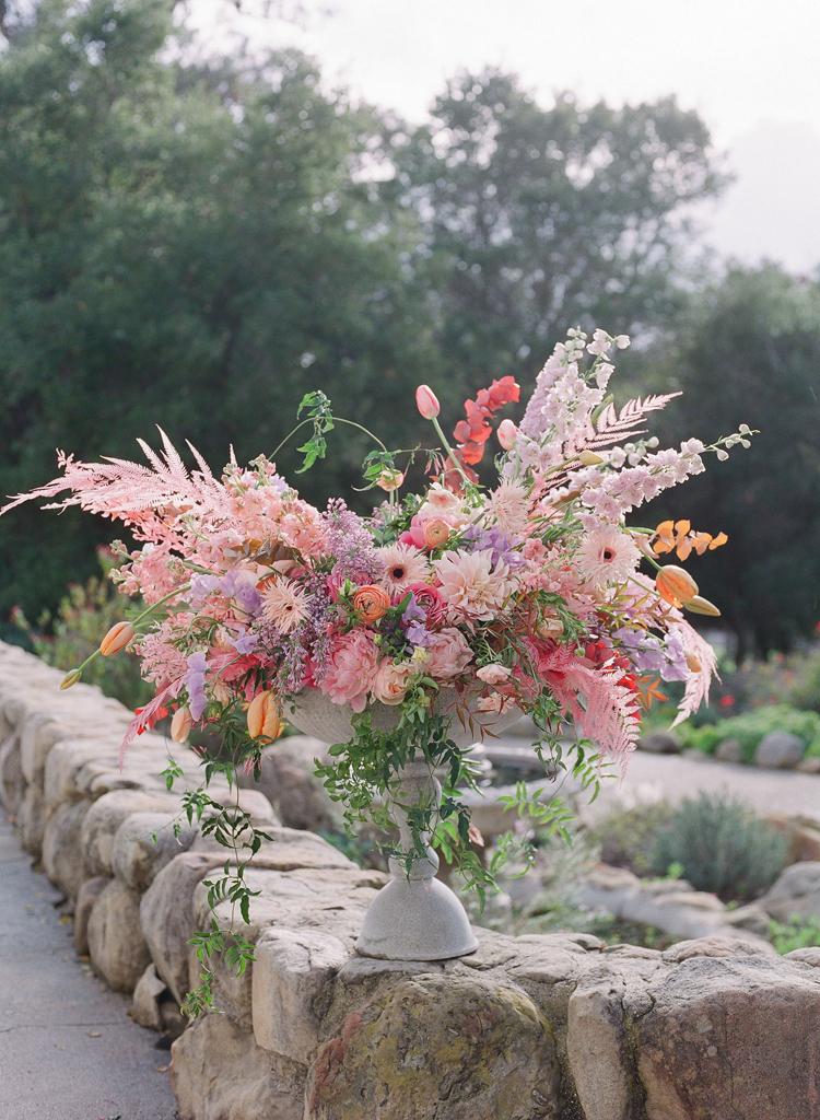 Floral arrangement by Holly Chapple at  Florabundance Design Days 2019, Santa Barbara, California. Photographs by Corbin Gurkin.