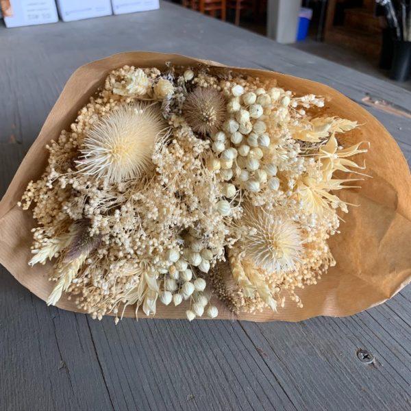 Cream Fantasy Dried Bouquet