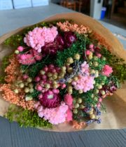 Dried Mixed Bouquet, Pink Fantasy