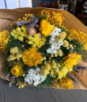 Dried Mixed Bouquet, Yellow Fantasy