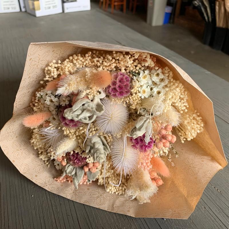 Light Pink Pastel Dried Bouquet