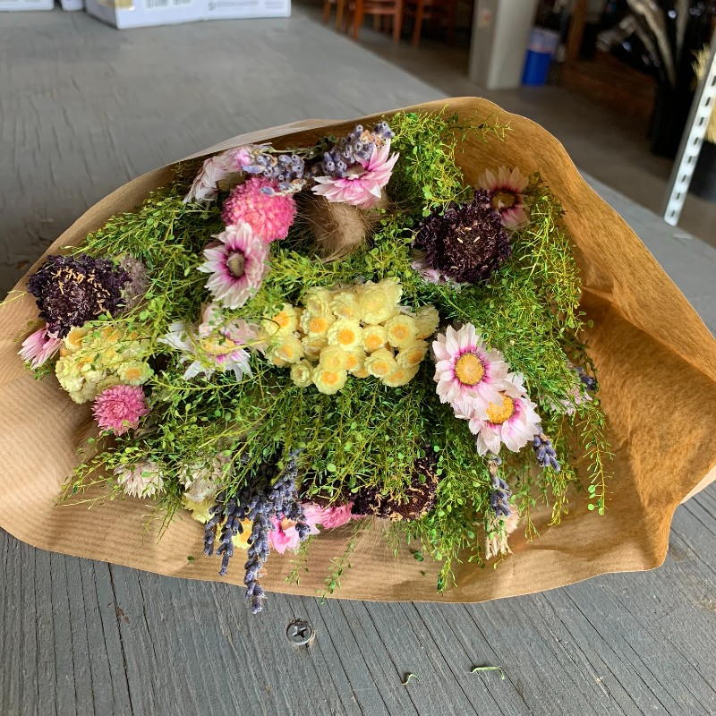 Mixed Fantasy Dried Bouquet